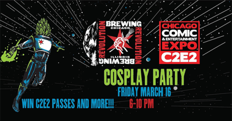 Galaxy Hero Cosplay Party at Revolution Brewing