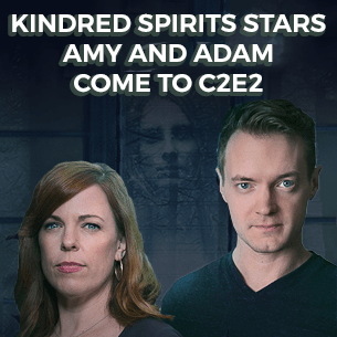 Kindred Spirits Stars Amy and Adam Comes To C2E2