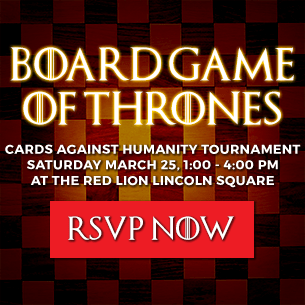 BoardGame Of Thrones. RSVP Now