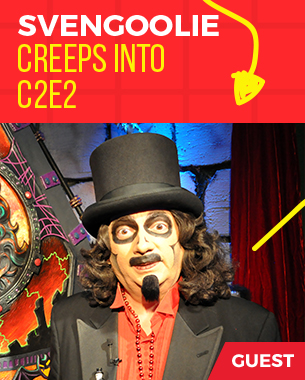 Svengoolie creeps into C2E2