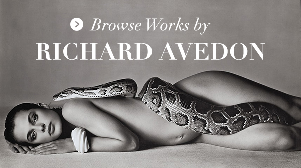 Browse Works by Richard Avedon