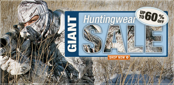 Giant Huntingwear Sale - Save up to 60% - Shop Now