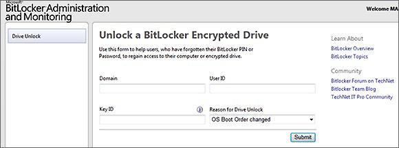 BitLocker Admin & Monitoring