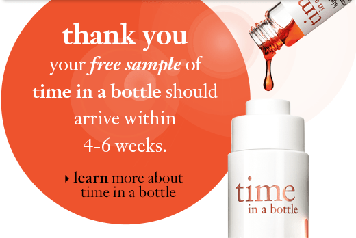 learn more about time in a bottle