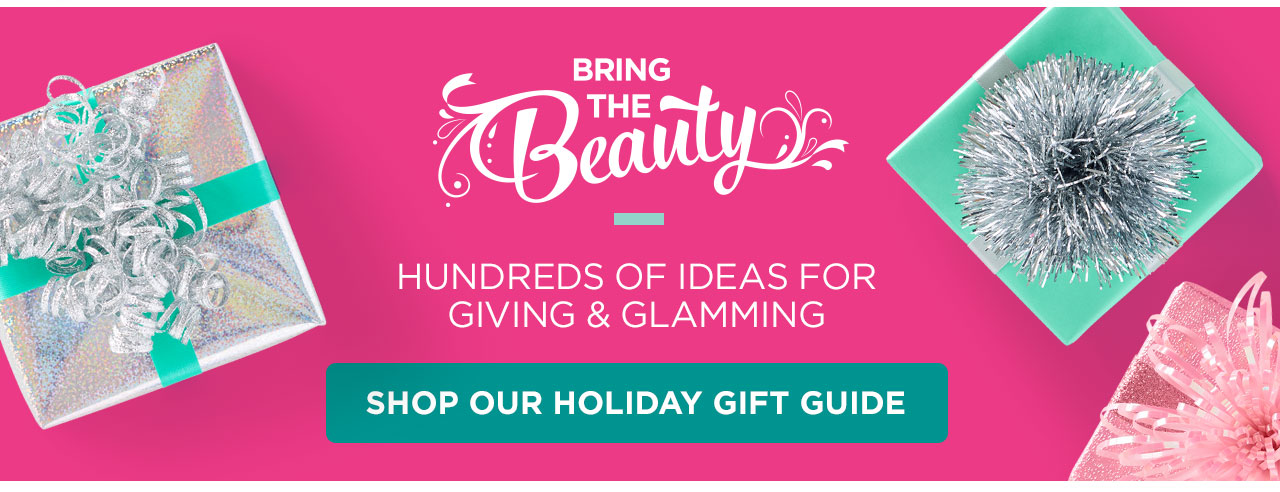 Hundreds of ideas for gifting and glamming. Shop our Holiday Gift Guide