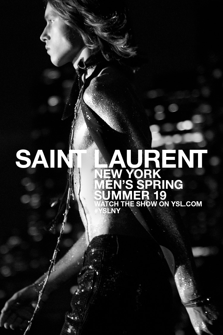 Saint Laurent New York / Watch now on YSL.COM