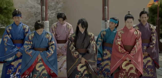 Image result for king taejo and wang so scarlet heart