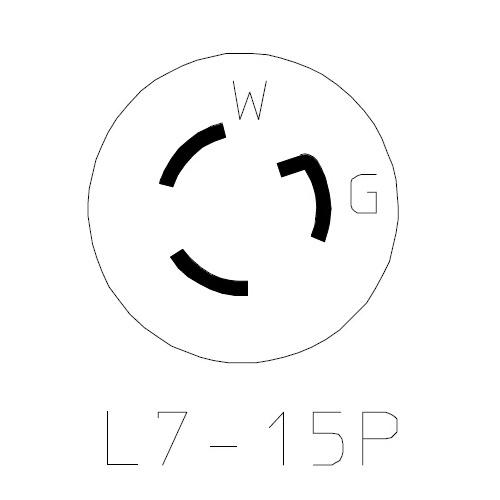 NEMA L7-15P