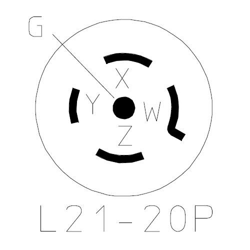 NEMA L21-20P