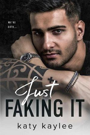 just faking it by