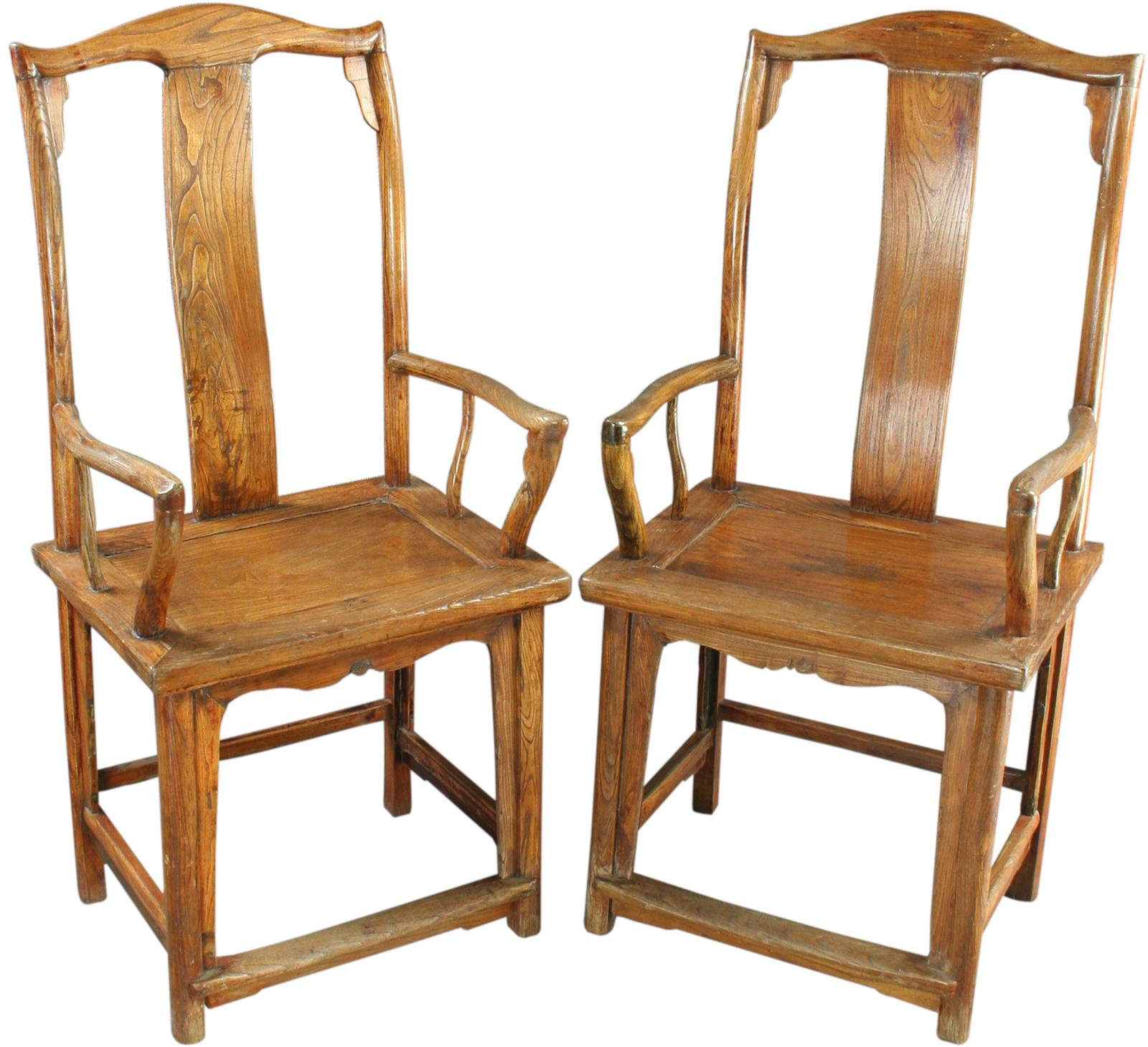 Antique Chairs Ebay Pair Antique Chinese Official 39s Armchairs Accent Chairs Ebay