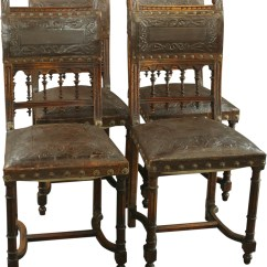 Antique Chairs Ebay Medicine Ball Chair Reviews Walnut French Renaissance Henry Ii Dining