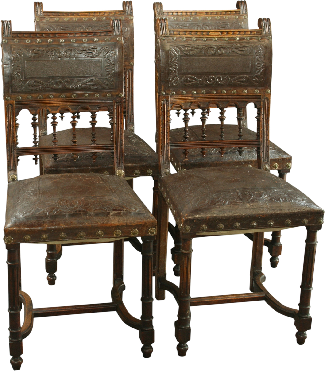 Antique Chairs Ebay Antique Walnut French Renaissance Henry Ii Dining Chair
