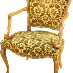 French Country Accent Chair Wholesale Wedding Covers Vintage 1930 Upholstered Arm