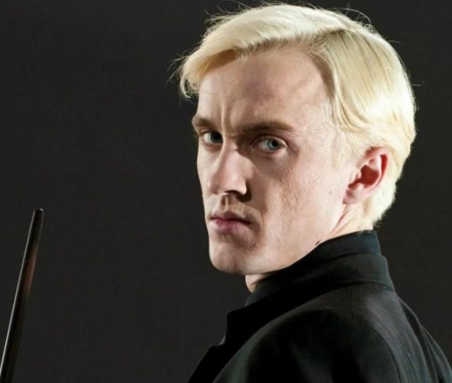Tom Felton Caracterizado Como Draco Malfoy En Harry Potter