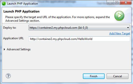 在 Zend Developer Cloud上构建程序 - Zend Studio中文版用户指南(连载)