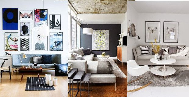 Ideas de decoracin para living moderno