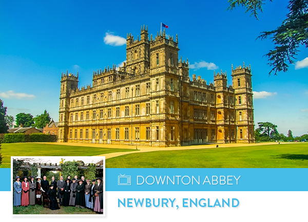 Downton Abbey - Newbury, England
