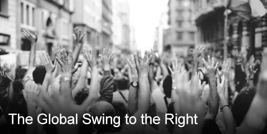 The Global Swing to the Right