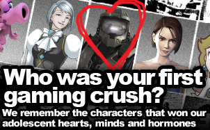 Who was your first gaming crush?
