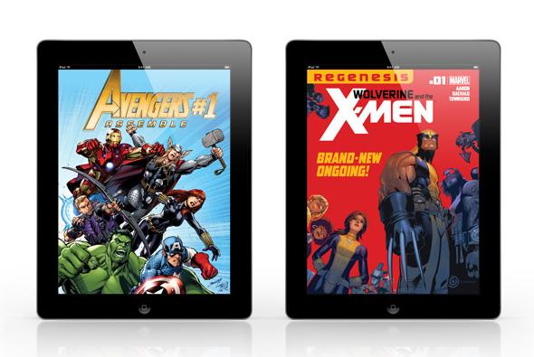 Buy Marvel Digital Comics & Get a $5 Coupon