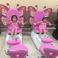 Butterfly Pedicure Chair Leather Captains Cute Kids China Hot Sale Wholesale