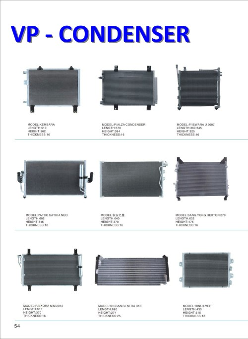 small resolution of air conditioner condenser for car