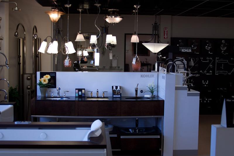 waterworks kitchen faucets sink pendant light showroom product display 3532 b st nw auburn, wa