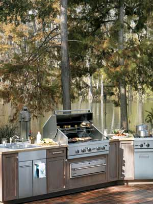 viking outdoor kitchen double bowl sink inspiring kitchens at fergusonshowrooms com