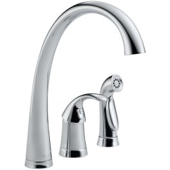 3 Hole Kitchen Faucet Mixer D4380dst Pilar Single Handle Chrome At Fergusonshowrooms Com