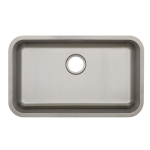 kitchen drain recycled glass countertops pfuc308a plomosa stainless steel undermount single bowl sink at fergusonshowrooms com