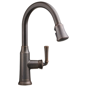 oil bronze kitchen faucet moroccan tile backsplash a4285300224 portsmouth pull out spray rubbed
