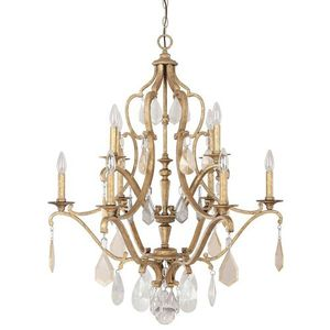 C4180agpc Blakely Mid Sized Chandelier Antique Gold