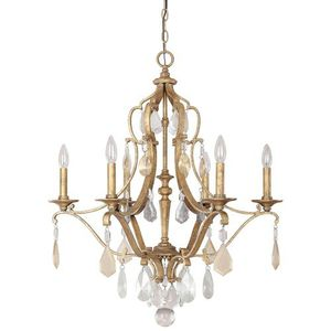 C4186agpc Blakely Mid Sized Chandelier Antique Gold