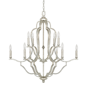 C4940as000 Blair Mid Sized Chandelier Antique Silver