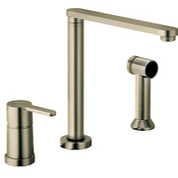 3 hole kitchen faucet wall rack faucets at fergusonshowrooms com single handle