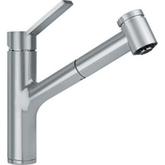 Franke Kitchen Faucet Gordon Ramsay Set Fffps3180 Ambient Pull Out Spray Satin Nickel At