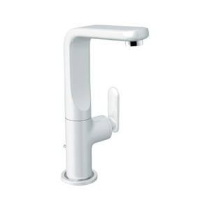 white kitchen faucet full cabinets g32185ls0 veris single handle moon at