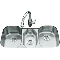 triple sink kitchen small pantry ideas bowl sinks at fergusonshowrooms com 41 5 8 x 20 1