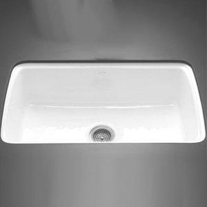 undermount single bowl kitchen sink wood hoods k5864 5u 0 cape dory white color