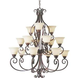 M12209fioi Manor Large Foyer Chandelier Oil Rubbed Bronze