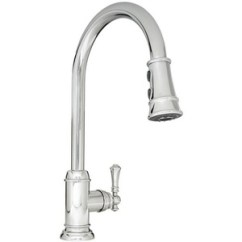 Pull Out Spray Kitchen Faucet Pot Hangers Mirxcam100cp Amberley Polished Chrome