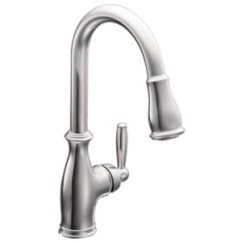 Moen Kitchen Faucet Pull Out Redesign Ideas M7185c Brantford Spray Chrome At