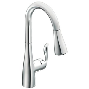 pull out kitchen faucets back splash ideas m7594c arbor spray faucet chrome at