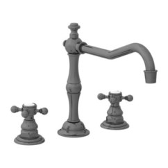 Antique Kitchen Faucets Cottage Style Cabinets N942 15a Chesterfield Two Handle Faucet Nickel At