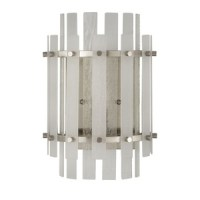 PHWL3192BN Sea Glass Multi Bulb Wall Sconce - Brushed ...