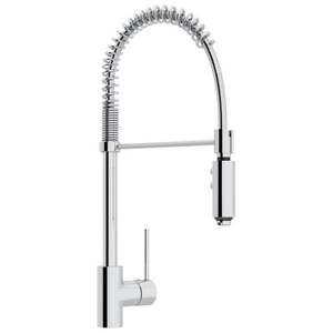 rohl kitchen faucet amish cabinets chicago rls64lapc2 pirellone pull out spray polished chrome