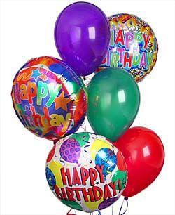 Las Vegas Happy Birthday Balloons