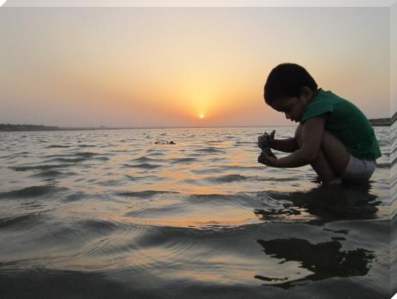 swe-patna-child-playing-during-sunset-at-river-ganga-sunset-photos.jpg (혐) 인도인들의 성수 겐지스 강 실태.jpg