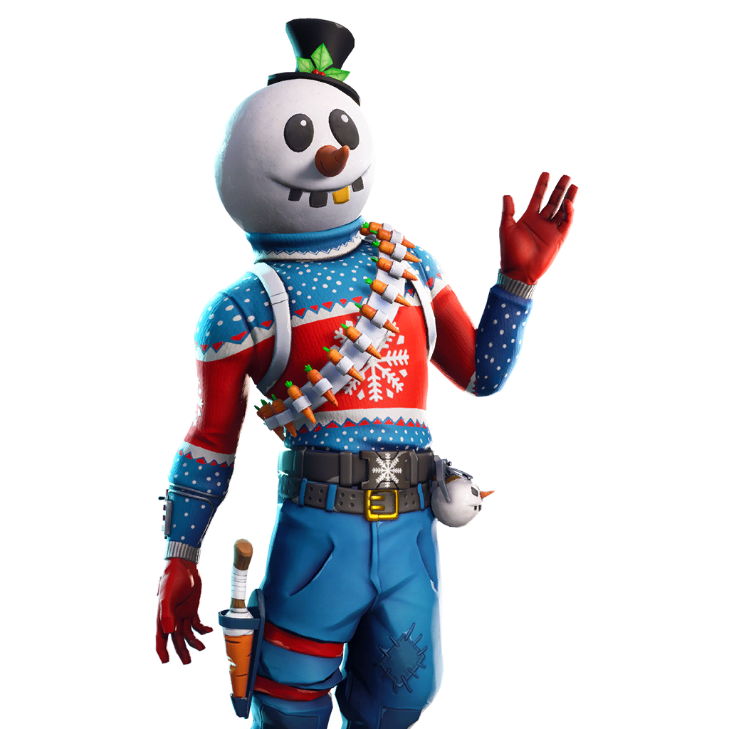 Slushy Soldier Outfit Fortnite Cosmetics